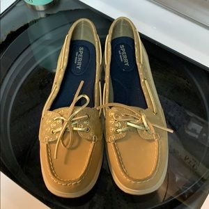 Women's sperry top slider classic leather shoes